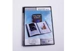 Foldermate  demomappe sort 20 lommer A4