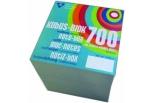 Cube refill 9*9cm, hvidt papir 700 ark