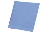 Silkepapir 5 ark 50*70cm. 18g. Mellemblå