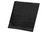 Silkepapir 5 ark 50*70cm. 18g. Sort
